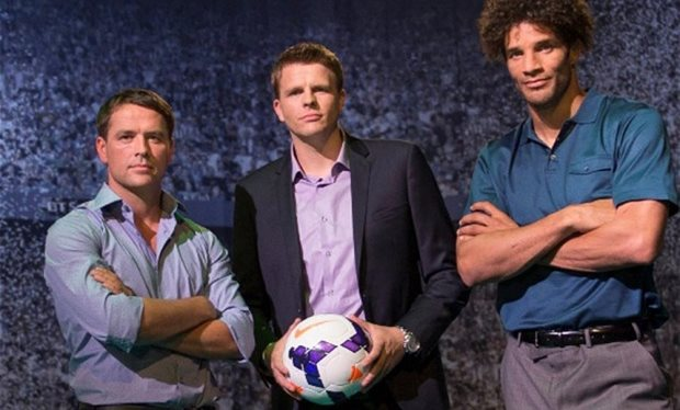 The BT Sport team look set to be the new faces of Champions League football.