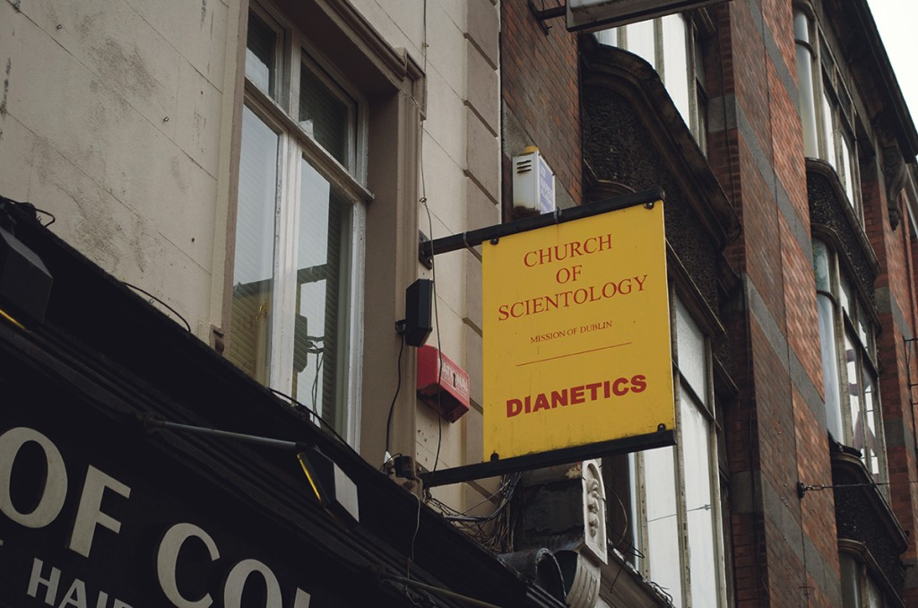 The Church of Scientology's Irish headquarters are on Abbey St.